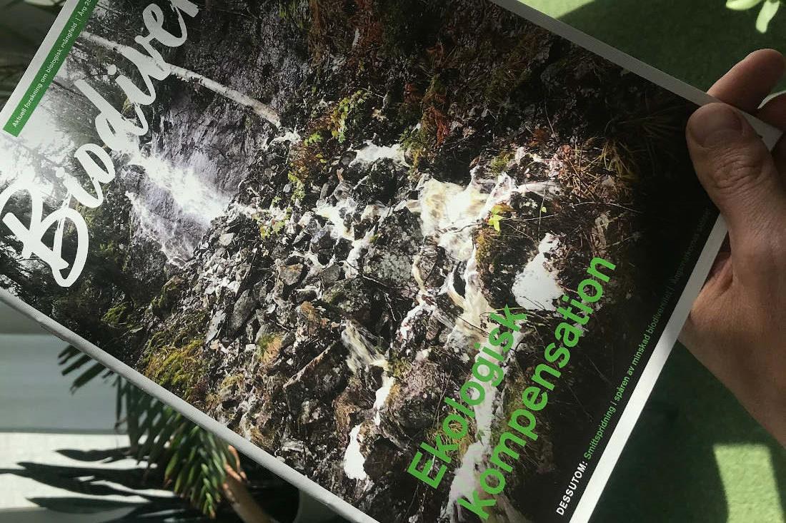 Omslaget till Biodiverse